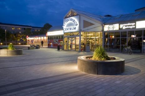 Pettersberg centrum Entré