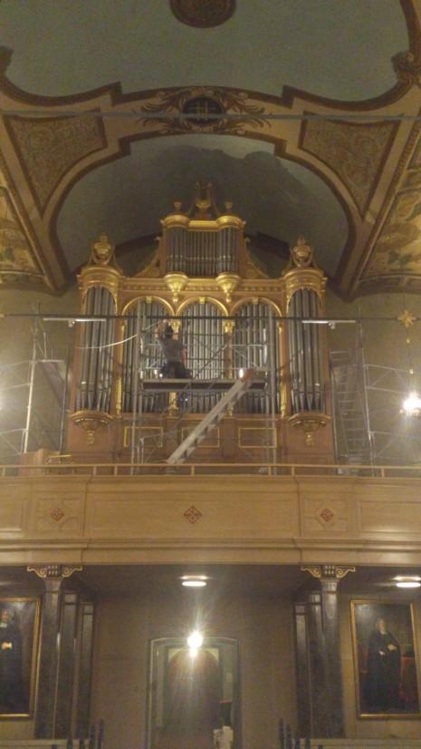 Ljusdesign, Lighting design, design, ljus, arkitektoniskt, kyrka, orgel, svenska, gammalt. fint, nytt, LED renovering